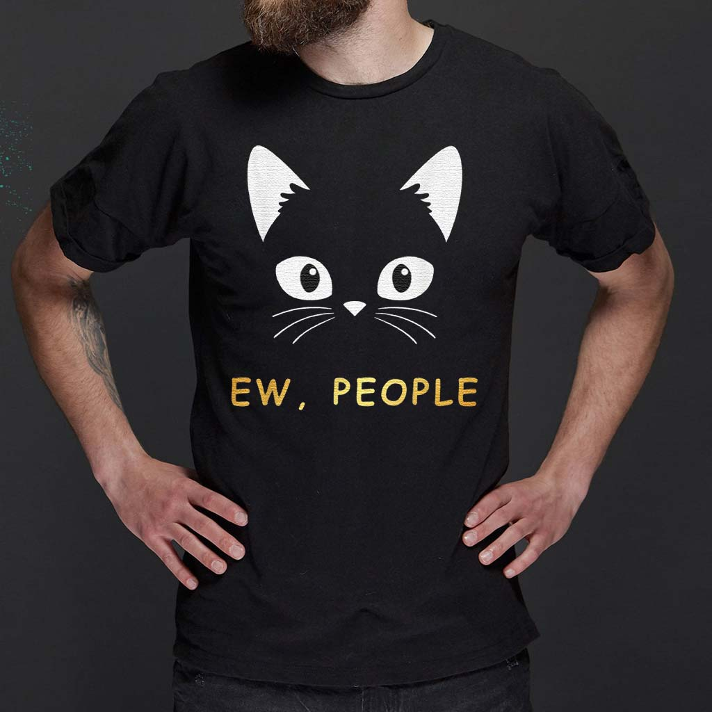 Ew-People-Meowy-Cat-T-Shirts