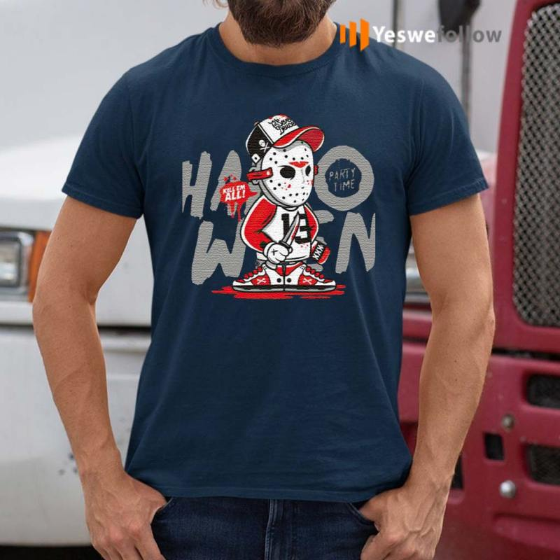 Halloween-Party-Jason-Voorhees-Time-Kill-Them-All-T-Shirt