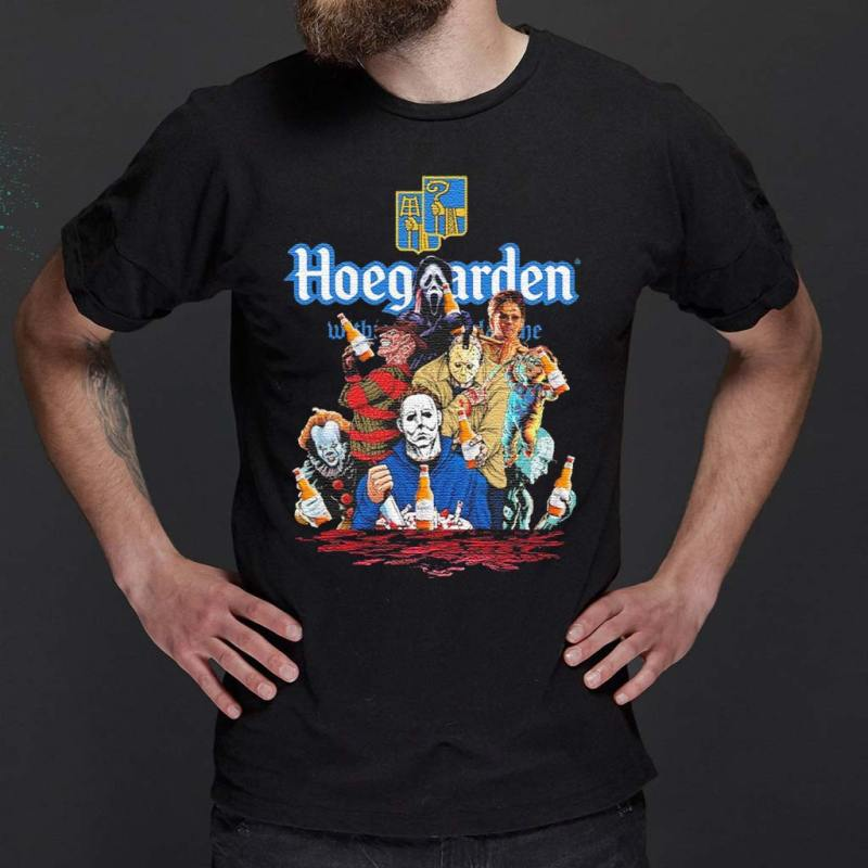 Hoegaarden-drink-Horror-movie-characters-Halloween-shirts