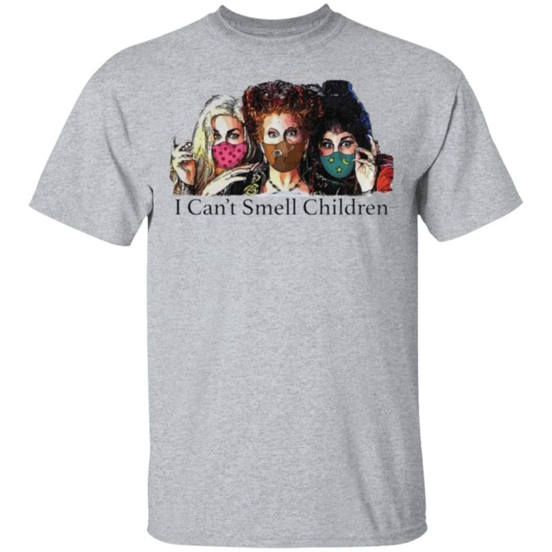 Hocus Pocus I can't smell children tshirt