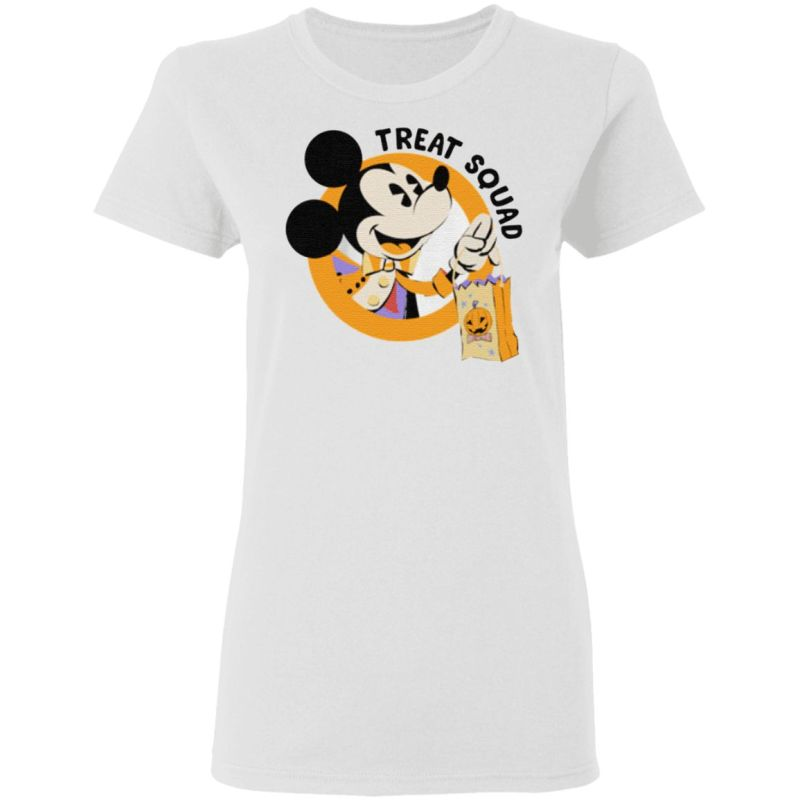 Mickey Mouse Treat Squad Halloween T Shirt