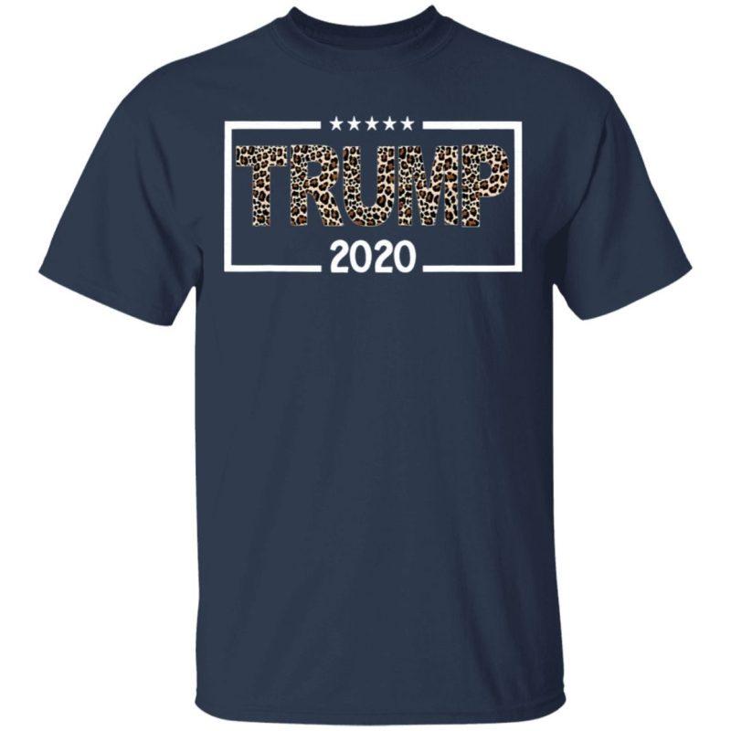 Donald Trump 2020 Leopard Print Shirt for Women T-Shirt