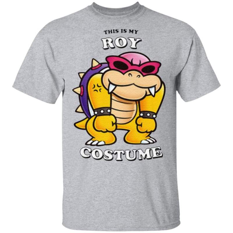 Super Mario This Is My Roy Costume T Shirt