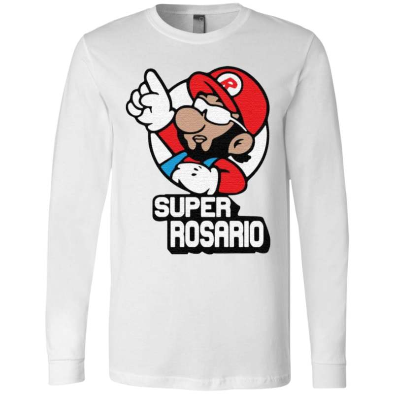 Super Rosario Super Mario t shirt