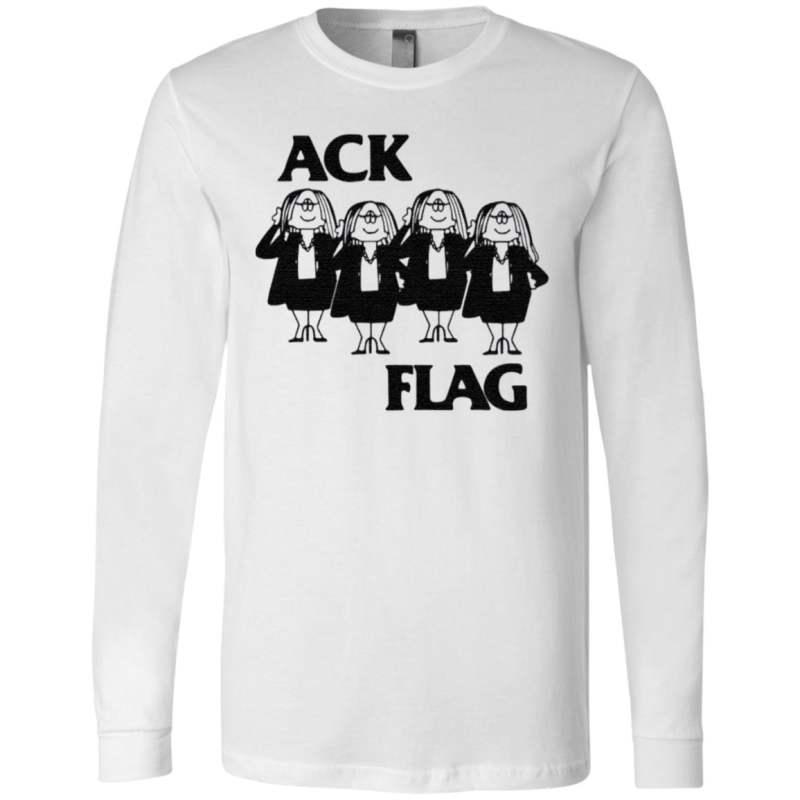 Cathy Ack Flag t shirt
