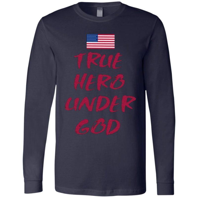 True Hero Under God T Shirt