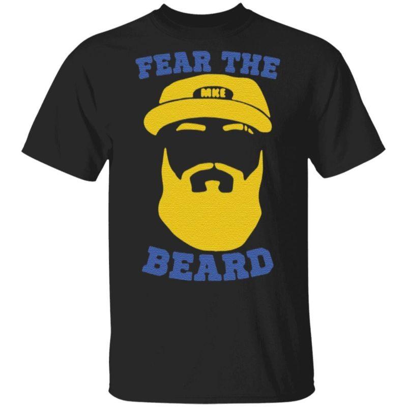 Eric Thames Fear The Beard T-Shirt