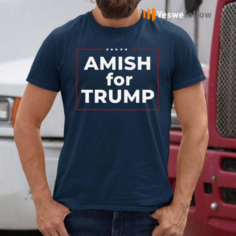 Amish-For-Trump-T-Shirts