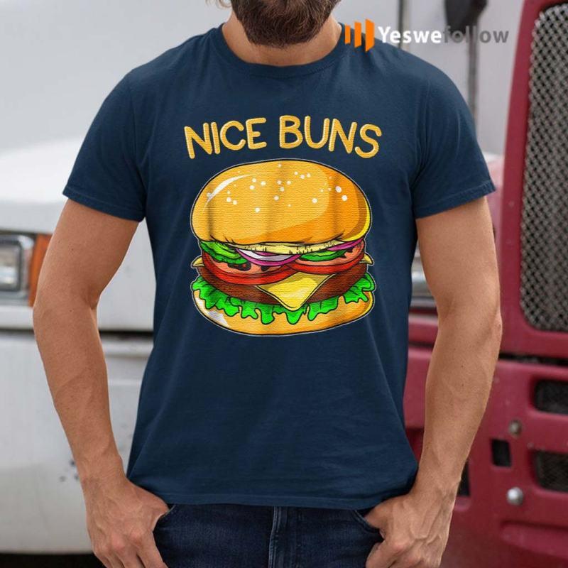 Burger-Hamburger-Cheeseburger-Nice-Buns-T-Shirt