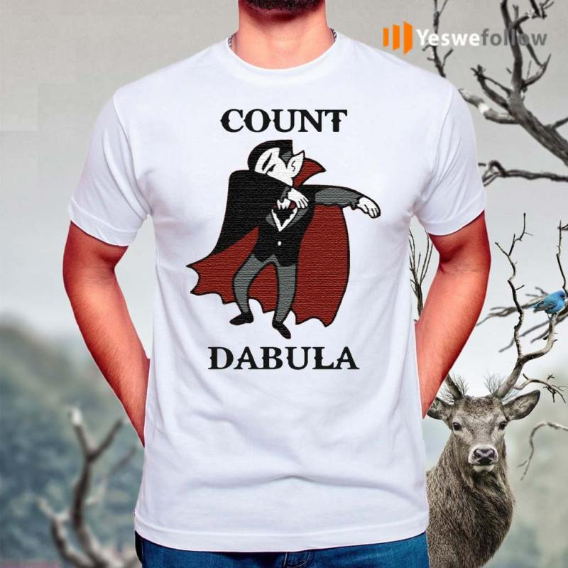 Halloween-Count-Dabula-Dab-Shirts