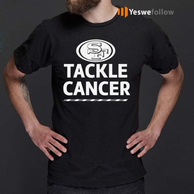 San-Francisco-49ers-Tackle-Cancer-Shirt