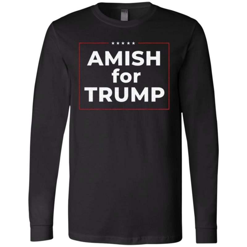 Amish For Trump T Shirt