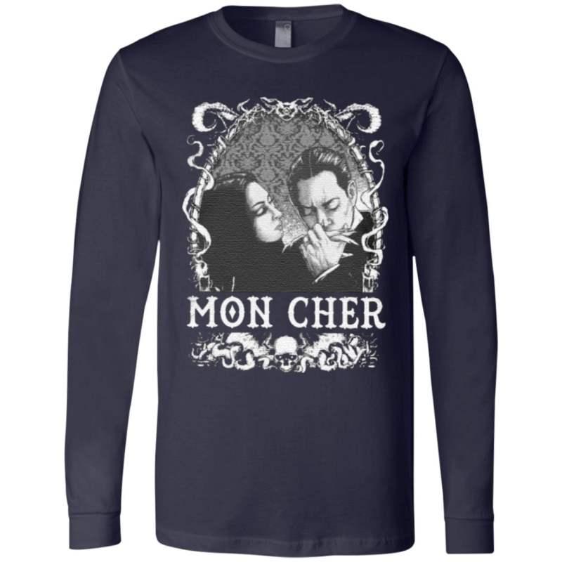 Cara Mia Addams Family Gomez And Morticia T Shirt