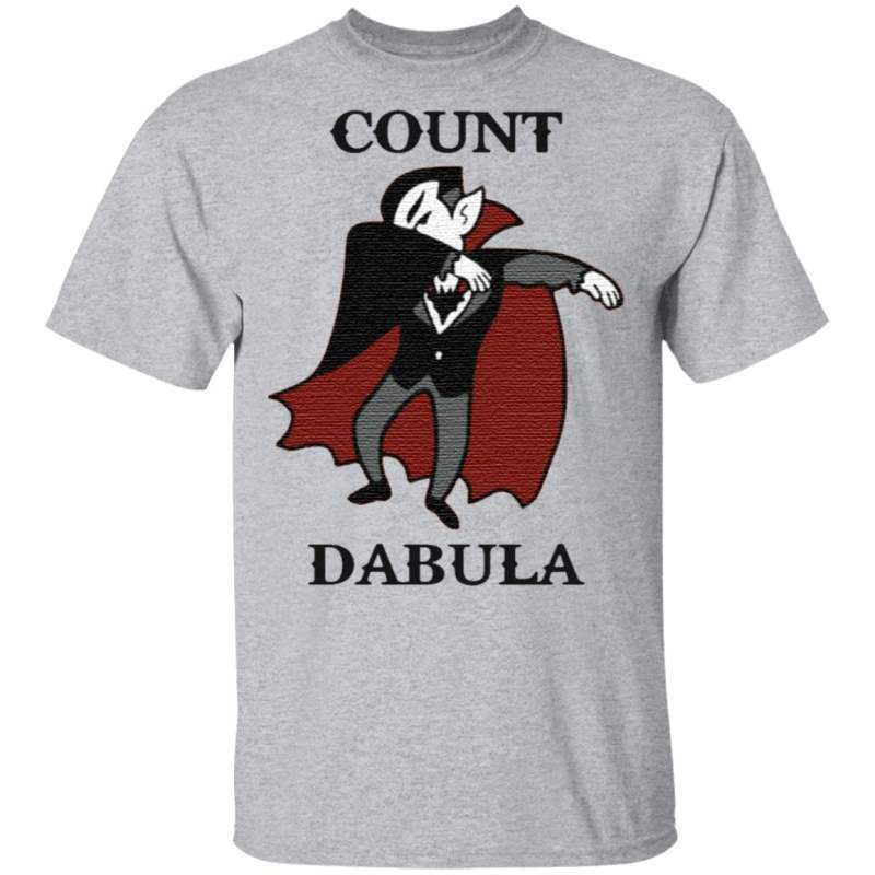 Halloween Count Dabula Dab T Shirt