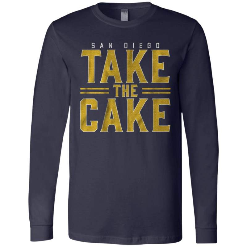 San Diego take the cake t shirt