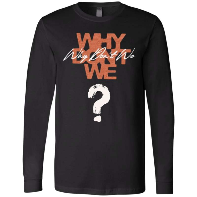why dont we t shirt