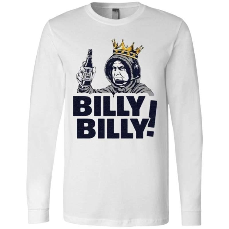 New England Patriots Bill Belichick Billy Billy T-Shirt