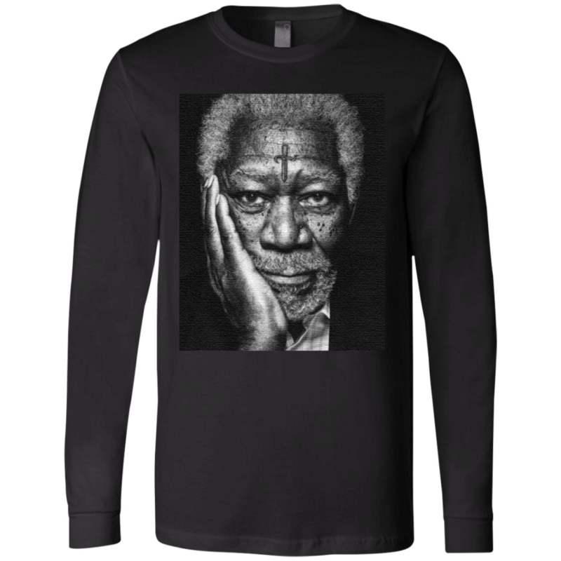 Morgan Freeman Photographed t shirt