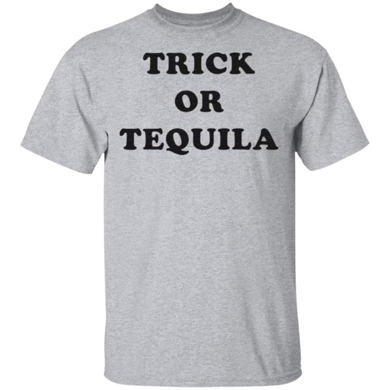 Trick or tequila t shirt