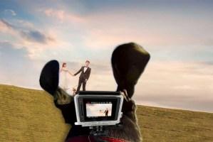 Tu perro graba el vídeo de tu boda