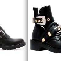 Una de clones: las botas Cutout de Balenciaga al estilo Zara