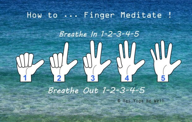 how to do finger meditation with kids
