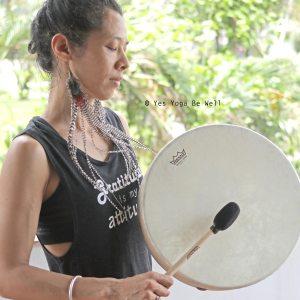 shamanic drum sophie lizeray