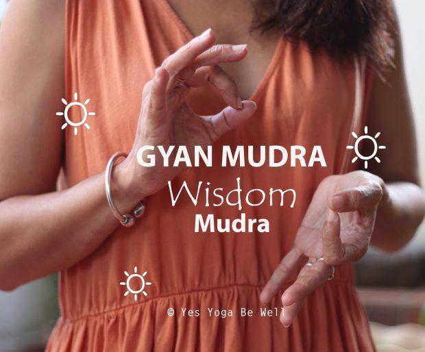 Gyan Mudra, the Wisdom Mudra How to do