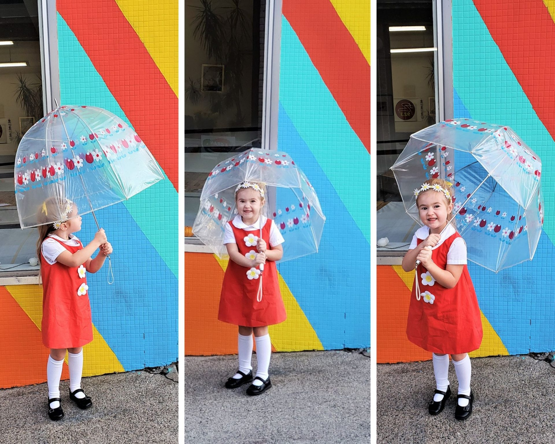 Eliza Collage - Umbrella