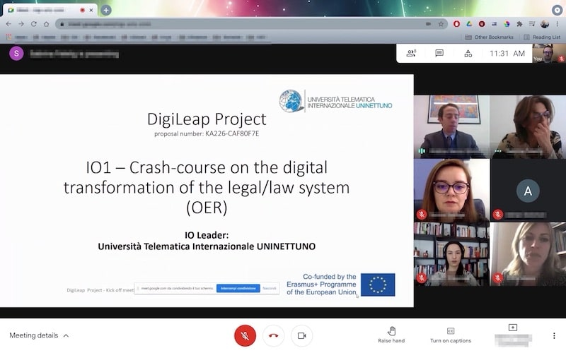 digiLEAP EU Project Kick-off meeting