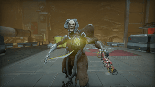 Warframe Seer and Cronus