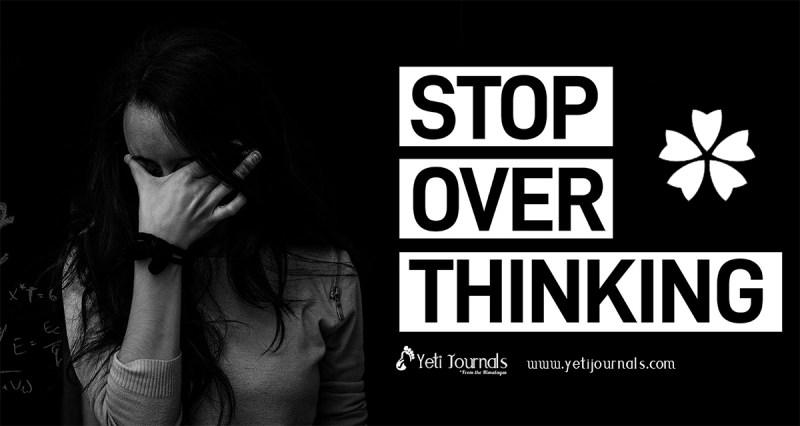 Stop Over Thinking, Yeti Journals