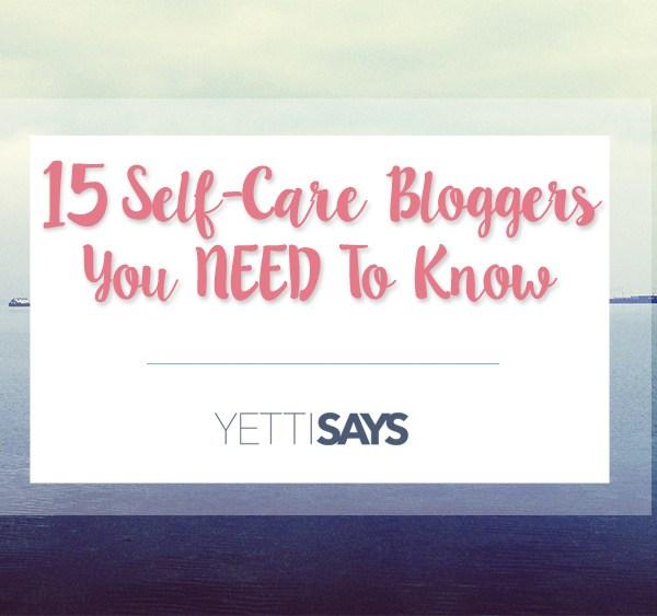 Self-Care Bloggers