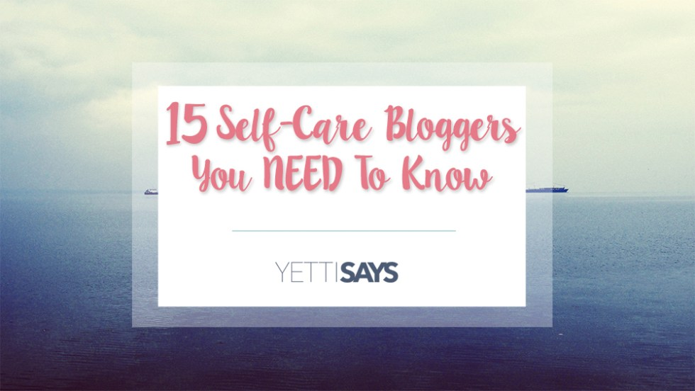 Self-Care Bloggers