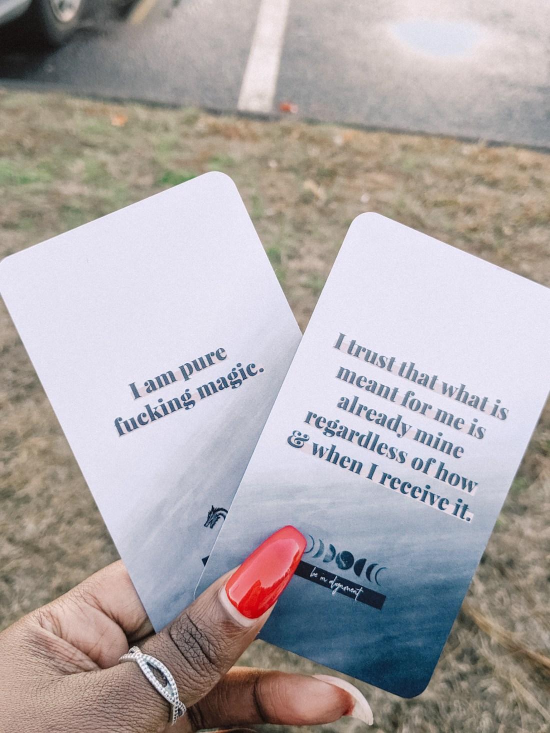 Self-Love Affirmation Cards
