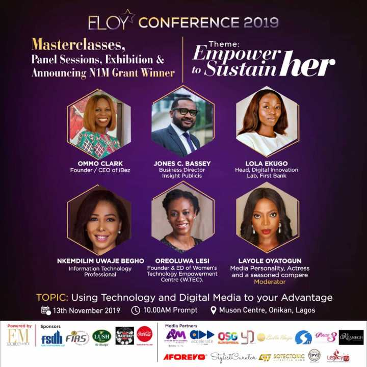 ELOY CONFERENCE 2019: MEET OUR PANELISTS (1)