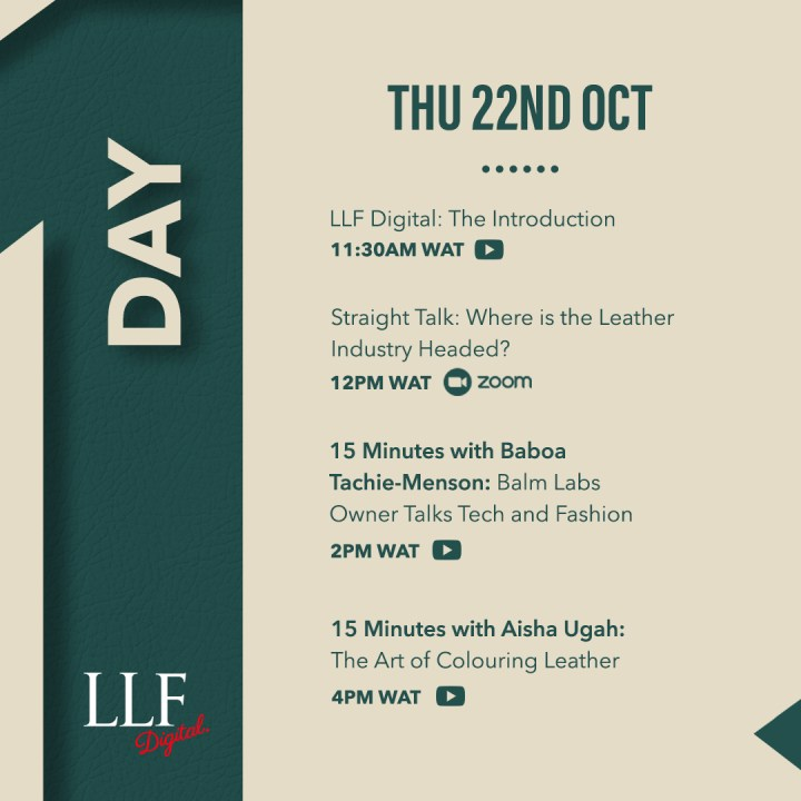 LLF DIGITAL DAY ONE | MEET OUR SPEAKERS!
