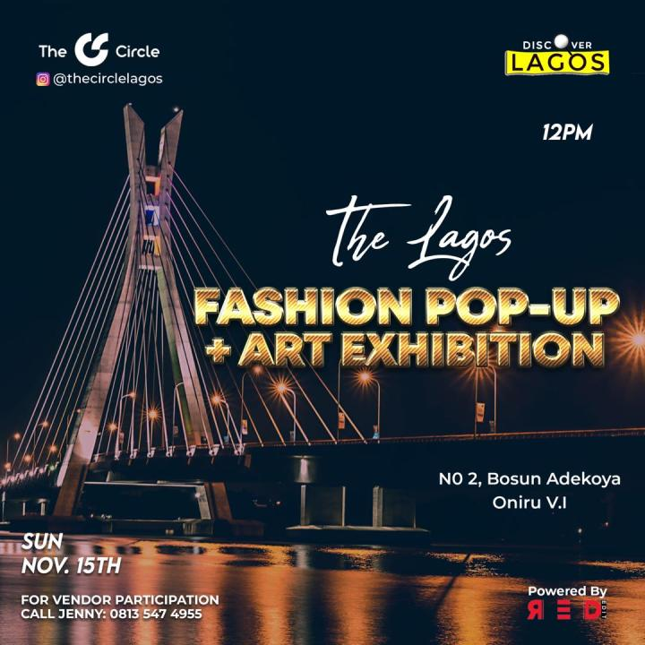THE LAGOS FASHION POP-UP IS HERE!
