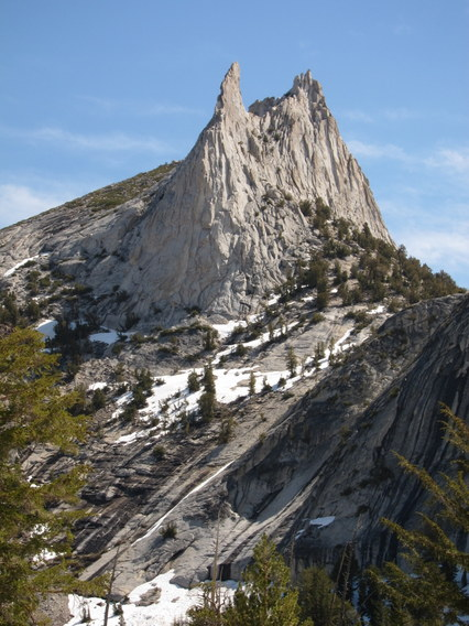 Eichorn Pinnacle and Cathedral Peak, Yosemite National Park
