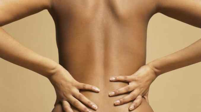 Period pain in lower back