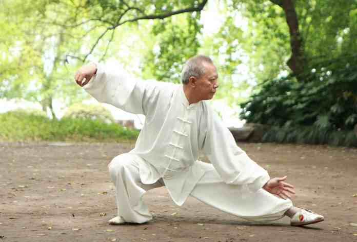 Tai chi exercises