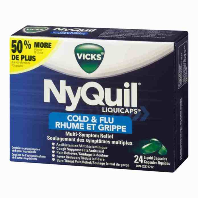 how long does a nyquil last