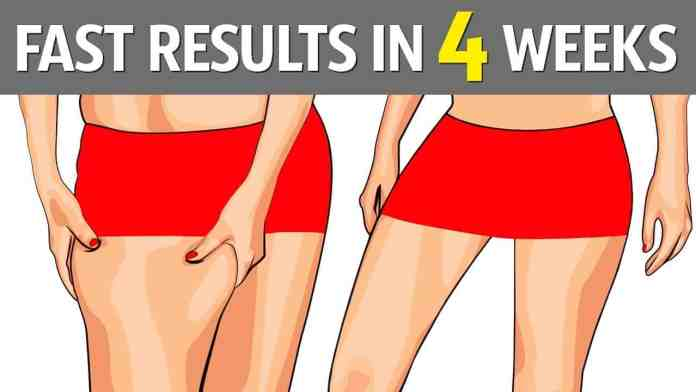 lose thigh fat fast