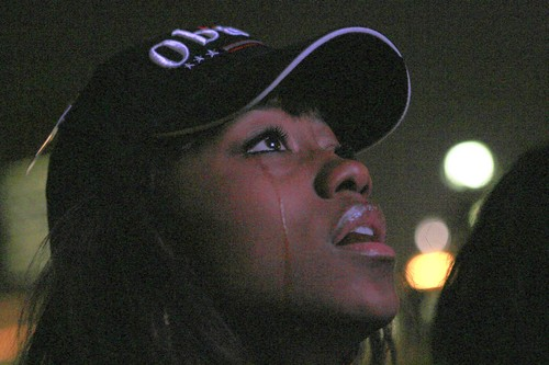 LET THE TEARS CLEANSE AWAY THE PAIN OF RACISM!