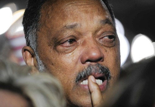 BROTHER JESSE JACKSON CRY OUT ALL THE PAIN AND HURT BLACK PEOPLE HAVE SUFFERED INamerikkka! YOU RAN SO THAT OBAMA COULD WIN!