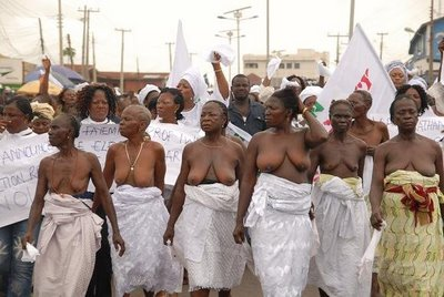 YORUBA WOMEN'S POWER! TO DO AND UNDO!