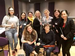 Royal Philharmonic Society Women Conductors. University of Liverpool (March 2019)