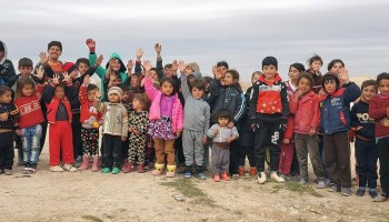 The Yezidis on Sinjar Mountain