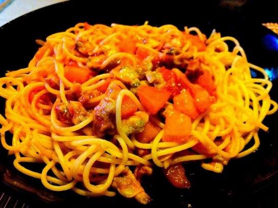 蕃茄蜆肉意粉