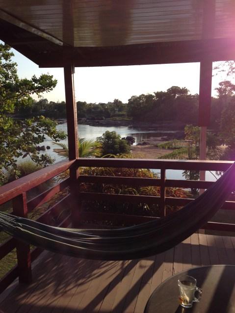 3. Boven Suriname - lodge slaapplaats Botopassie 3